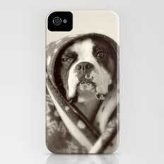 Obi Wan (Buck the world's most lovable boxer dog) Slim Case iPhone (4, 4s)