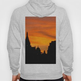 London Sunset in sillouette bywhacky Hoody