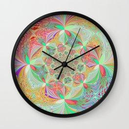 Dancing Butterflies Wall Clock