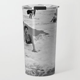 Bathing Woman in Vietnam - analog Travel Mug