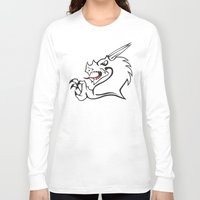 dragon Long Sleeve T-shirts featuring Dragon by MassDistraction