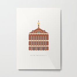 Faneuil Hall | Boston, Massachusetts Metal Print