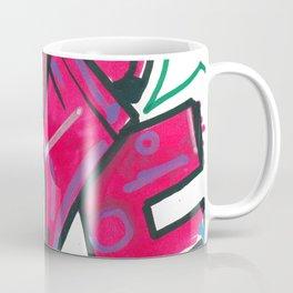 Magenta piece Coffee Mug