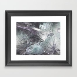 Yielding to Winter's breath Framed Art Print