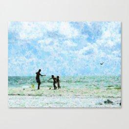 Summer Play Canvas Print