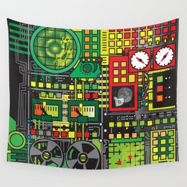 DOES NOT COMPUTE Wall Tapestry