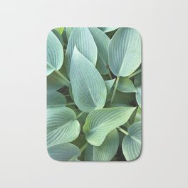 Perfect green leaves Bath Mat