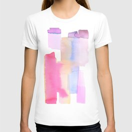 Abstract Lavender T-shirt