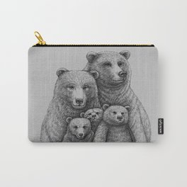 Family photo (mr. Bear) Carry-All Pouch