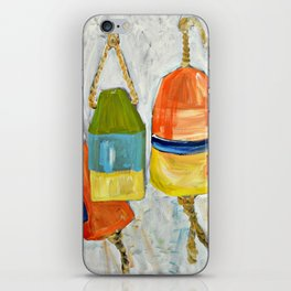 Lobster Buoys iPhone Skin