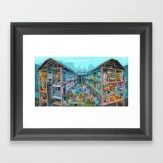 Budpapest Bang summer Framed Art Print