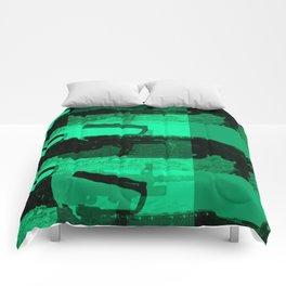 mk.48 in green Comforters