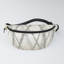 Brown Bamboo Fanny Pack