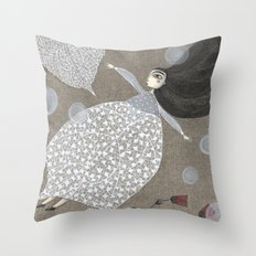 Summer's End Throw Pillow