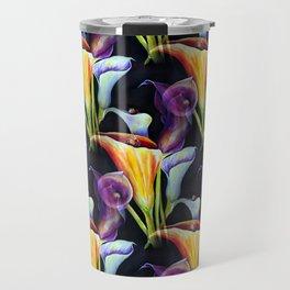 Watercolor Calla Lilies Travel Mug