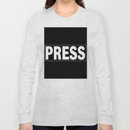 Press pass Long Sleeve T-shirt