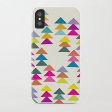 Lost in a Forest Slim Case iPhone X