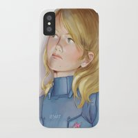 samus iPhone & iPod Cases featuring Samus by Sheharzad