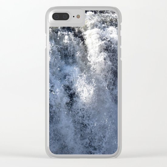 Don't Go Chasing Waterfalls 3 Clear iPhone Case