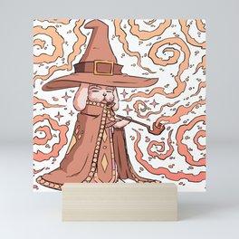 Bunny Wizard Mini Art Print