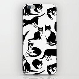 Tuxedo Cats iPhone Skin