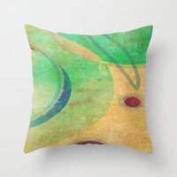 breakfast Throw Pillows featuring Breakfast by Fernando Vieira