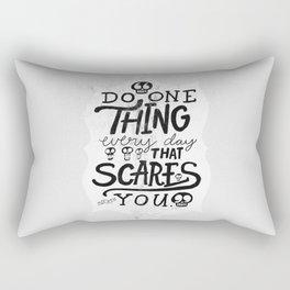 Eleanor Roosevelt.  Rectangular Pillow