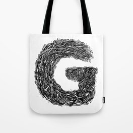 The Illustrated G Tote Bag