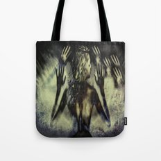 Gathering of Hands Tote Bag