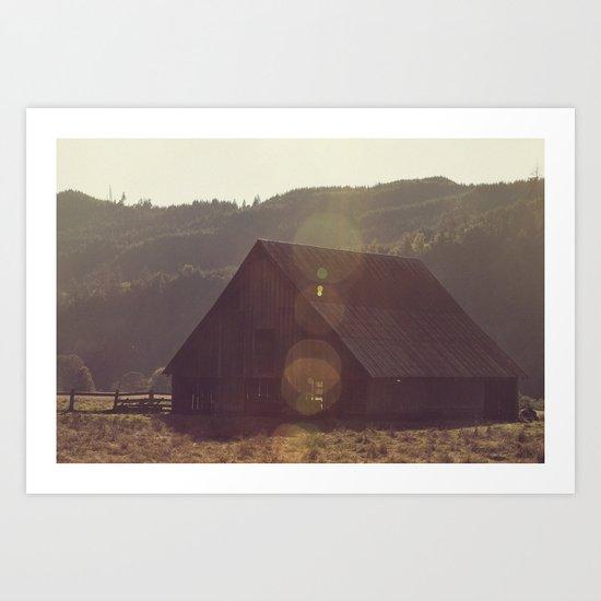 Summer Fields | 04 Art Print