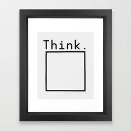 Outside the Box Framed Art Print