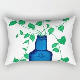 Pothos in a bottle Rectangular Pillow