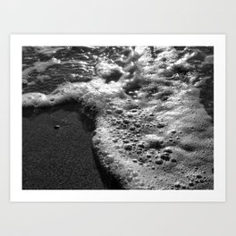 Sea Water Art Print