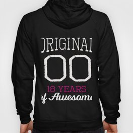 Awesome Original 2000 18th Birthday Gift for Girls Hoody
