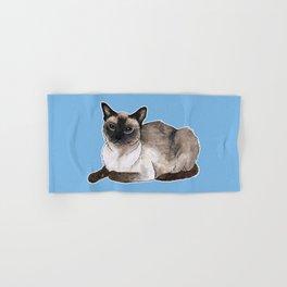 Siamese cat Hand & Bath Towel
