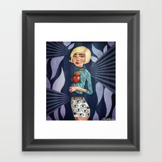 Concealed Wisdom Framed Art Print