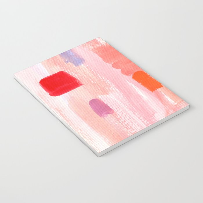 Put Sorrows In A Jar - abstract modern art minimal painting nursery Notebook