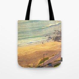 surfers beach. ericeira Tote Bag