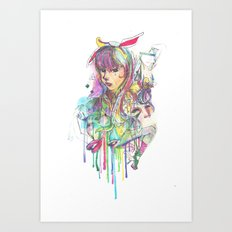 Numina Paradoxia Art Print