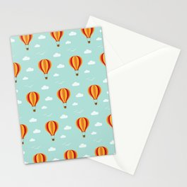 Zooming through the air Stationery Cards