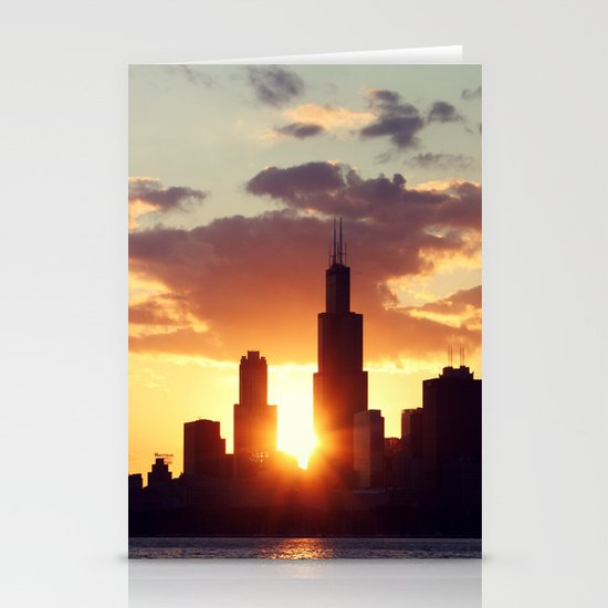 Chi Sky Stationery Cards