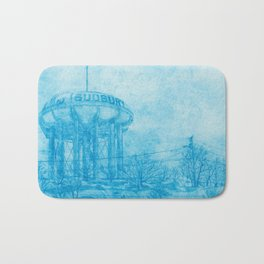The Sudbury Water Tower Bath Mat