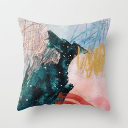 stars aligning Throw Pillow