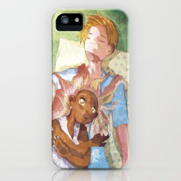 Sleeping in the Shade iPhone Case
