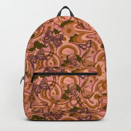 Butterflyrain mauve Backpack