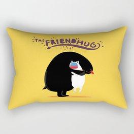 The Friend Hug Rectangular Pillow