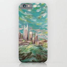 New Nashville From Love Hill iPhone Case