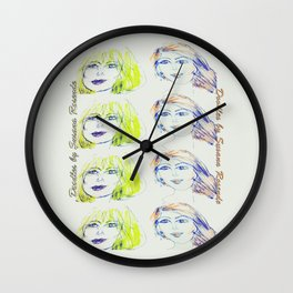 Blondie and Ginger Wall Clock