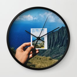 Kauai, Hawaii Wall Clock