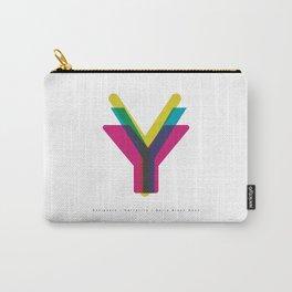 "San Serif ""Y"" Carry-All Pouch"